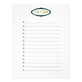 Para hacer la lista (reciclada) plantilla de membrete