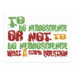 Para hacer la neurología tarjetas postales