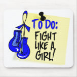 Para hacer la nota - lucha como un chica - cáncer  tapete de raton