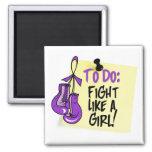 Para hacer la nota - lucha como un chica - Fibromy Imán Para Frigorifico