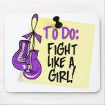 Para hacer la nota - lucha como un chica - Fibromy Tapetes De Ratón
