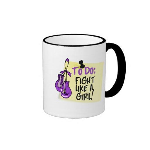 Para hacer la nota - lucha como un chica - fibrosi tazas de café