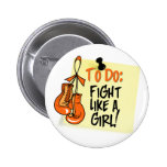 Para hacer la nota - lucha como un chica - leucemi pin