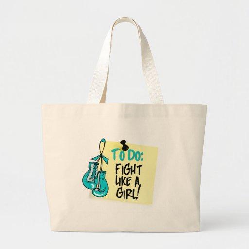 Para hacer la nota - lucha como un chica - PCOS Bolsa