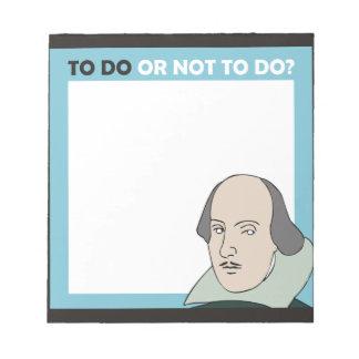 Para hacer o no hacer bloc de notas