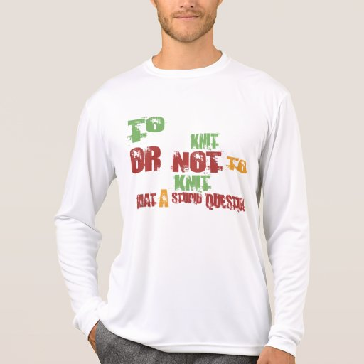 Para hacer punto camisetas