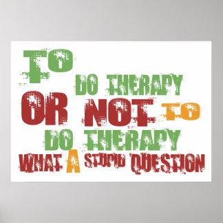 Para hacer terapia impresiones