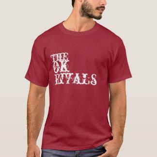 Para hombre la autorización rivaliza la camiseta