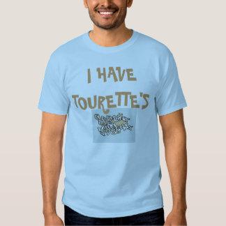 Para hombre TENGO camiseta de TOURETT Polera