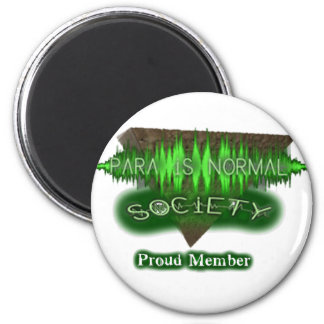 """Para-Is-Normal """"Proud Member"""" 2 Inch Round Magnet"""