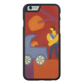 Para Isabel 2005 Carved® Maple iPhone 6 Case