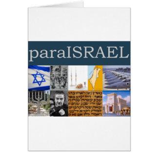 Para Israel Card