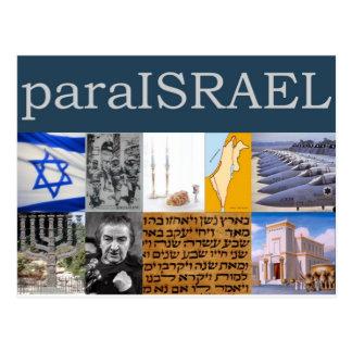 Para Israel Tarjeta Postal