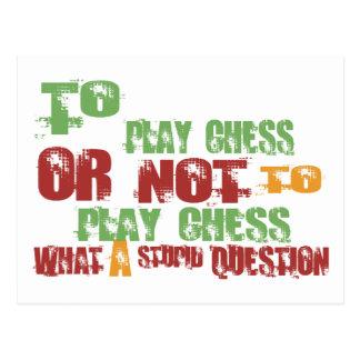 Para jugar a ajedrez postal