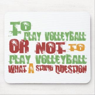 Para jugar a voleibol alfombrilla de raton