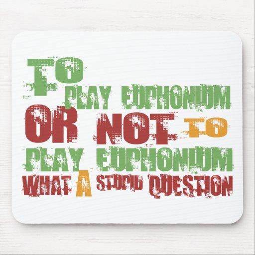 Para jugar el Euphonium Tapete De Ratones