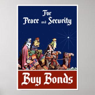 Para la paz y la seguridad - compre enlaces póster