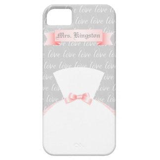 """Para la """"señora personalizada novia """" iPhone 5 Case-Mate coberturas"""