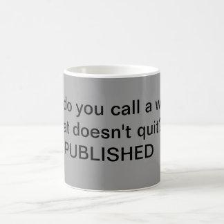 Para la taza de los escritores solamente