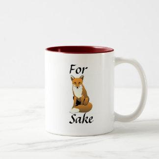Para la taza del motivo del Fox