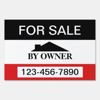 Para la venta por venta de la casa del dueño cartel