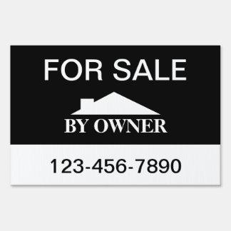 Para la venta por venta de la casa del dueño letrero