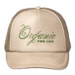 Para la vida, orgánico gorras