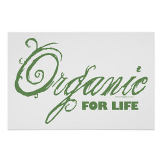 Para la vida, orgánico impresiones