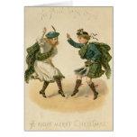 Para Lang viejo Syne - Felices Navidad correctas Tarjetón