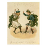 Para Lang viejo Syne - Felices Navidad correctas Tarjeta Postal