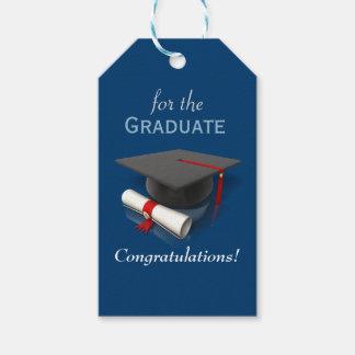 Para las etiquetas graduadas del regalo etiquetas para regalos