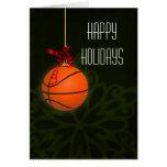 para las tarjetas de Navidad de un jugador de