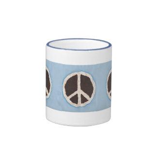 Para las tazas de la empanada de la paz del