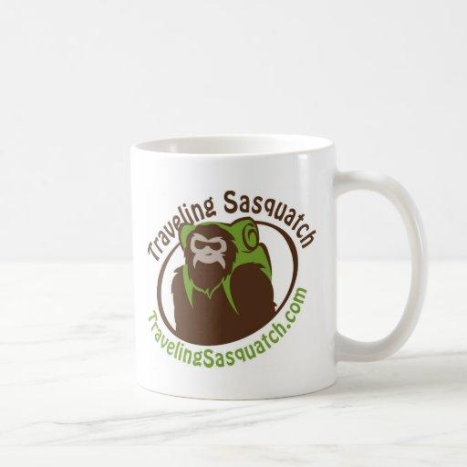 ¡Para llevar un Sasquatch que viaja! Taza