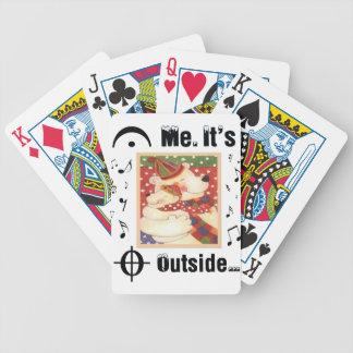 Para los amantes de la música cartas de juego