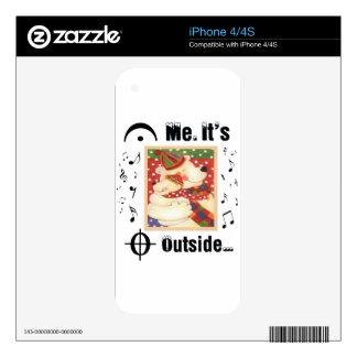 Para los amantes de la música skins para iPhone 4S