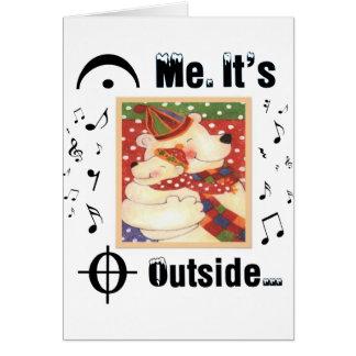 Para los amantes de la música tarjeta de felicitación