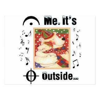 Para los amantes de la música tarjeta postal