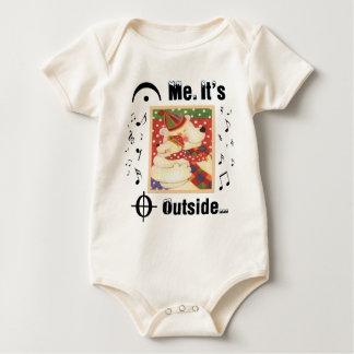 Para los amantes de la música trajes de bebé
