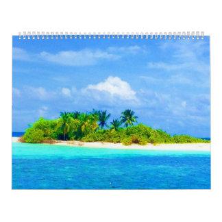 Para los amantes de la playa calendarios