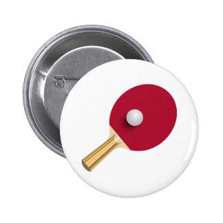 ¡Para los amantes del ping-pong! Pin Redondo 5 Cm