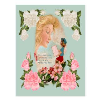 Para los amores estimados postales