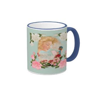 Para los amores estimados taza de café