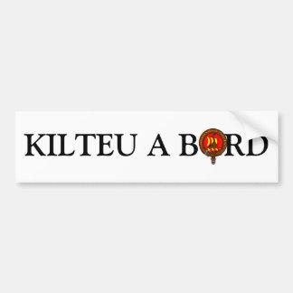 Para los coches de Kilteux Pegatina Para Auto