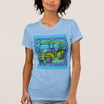 Para los diseños del golfista camiseta