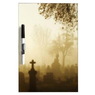 Para los mensajes góticos tablero blanco