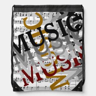 para los músicos o los amantes de la música mochilas