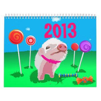 Para los niños calendario