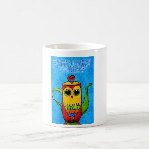 Para los noctámbulos tazas de café