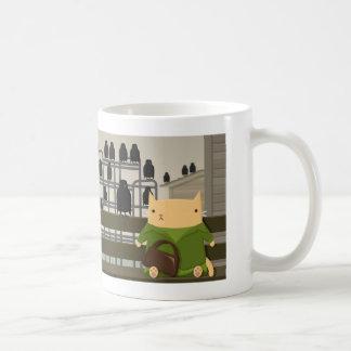 ¡Para los pájaros! Taza De Café